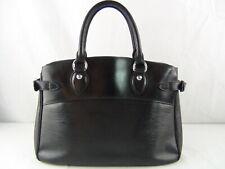 US seller Authentic LOUIS VUITTON EPI PASSY PM HAND BAG BLACK usable+