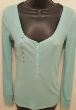 Victoria's Secret XS Sky Blue Long Sleeves Top ~ NWT