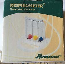 RESPIROMETER RESPIRATORY EXERCISER WITH THREE BALLS