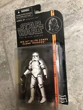 "Star Wars The Black Series #12 - 41ST ELITE CORPS CLONE TROOPER - 3.75"" Figure"