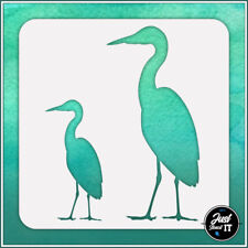 Crane #1 - durable and reusable stencil for DIY painting & crafts