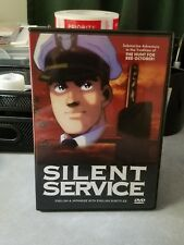 The Silent Service (DVD, 2003) ultra rare oop