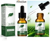 Tea tree Oil 10ml for Hair Face Skin Nails Australian essential Beauty oil