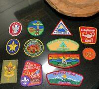 1970's - 80's BSA Boy Scout Leadership Patches Blue Ridge Council Virginia
