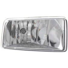 For Silverado 1500 07-15, Driver Side Fog Light, Clear Lens, Plastic Lens