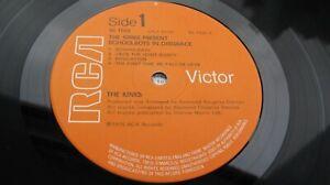 The Kinks SCHOOLBOYS IN DISGRACE 1976 UK LP 1st 1E/1E + insert NEAR MINT HEAR