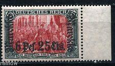 DP Marokko 6 Pes. 25 Aufdruck 1911* geprüft (S5289)