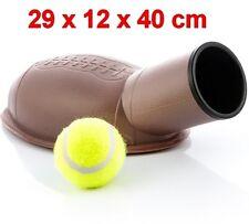 Lanzapelotas lanzador de pelotas para perros + pelota de tenis, lanza hasta 15 m