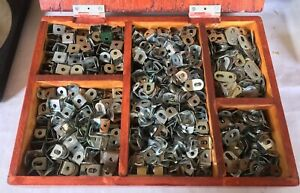 Meccano large quantities of angle brackets, fishplates, double brackets etc