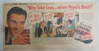 Pepsi-Cola Ad: Singer Phil Regans Family from 1940's Size: 7.5 x 15 inches