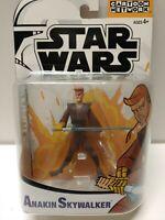 Hasbro Star Wars Clone Cartoon Network Anakin Skywalker Action Figure