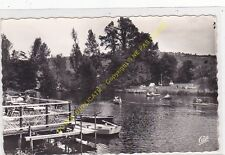 CPSM 14570 CLECY Bords Orne & Camping bateaux animé Edit CAP 1969