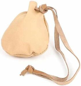 Mythrojan Leather Pouch Jewelry Bag Drawstring Christmas Gift Storage Bag Pouch