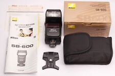 [Top Mint in Box!!] Nikon Speedlight SB-600 Shoe Mount Flash from JAPAN #251
