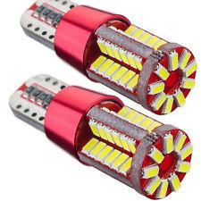 2X T10 White Light CANBUS ERROR FREE 501 194 W5W 3014 57SMD Car LED Lights Bulbs