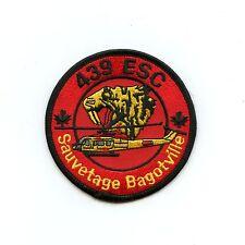 RCAF CAF Canadian 439 Tiger Bagotville Squadron Colour Crest Patch