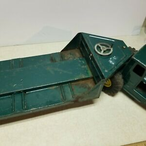 Toy1950's Nylint LeTourneau Tournahauler Flat Bed Truck with Ramp