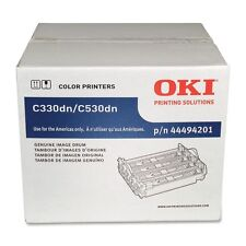 Genuine Oki 44494201 Imaging Drum Unit 20000 Page for C330dn, C530dn, MC361 MFP