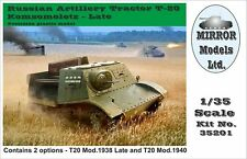MIRROR MODELS 35201 Russian Artillery Tractor Komsomoletz Late in 1:35
