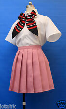 Ao No Exorcist Shiemi Moriyama Uniform Cosplay Costume Custom Made < Lotahk >