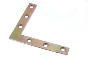 2 Plano Soporte de Esquina Abrazadera Reparar Placa 100MM 5C6