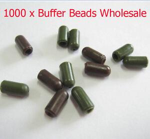 1000 x Bullet Buffer Beads, Knot protector Various Colours Carp Tackle Wholesale