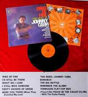 LP Johnny Cash: Ring of Fire - Best of Johnny Cash (CBS Stereo 62171) UK