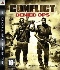 CONFLICT DENIED OPS   PLAYSTATION 3 ps3 [nessun manuale]