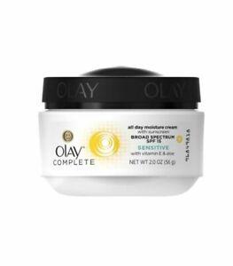 Olay Complete Sensitive Daily Moisturizer Cream w Sunscreen 2.0 oz