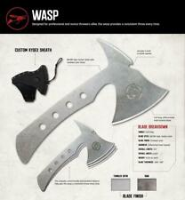 SOUTHERN GRIND SG10070002 WASP RAE AXE SET WITH KYDEX SHEATH