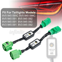 2 x Dynamic Turn Signal Indicator LED Taillight Module For Audi A3 8V  ˜.