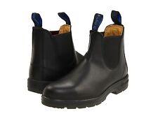 Men's Blundstone Warm Fur Footbed & WaterProof Pull On Boot BL 566 Black Leather