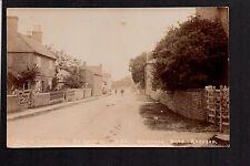 "North Leverton near Retford - real photographic  postcard by ""Welchman Bros."""