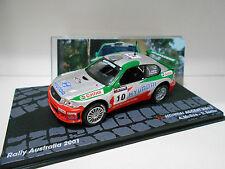 HYUNDAI ACCENT WRC 2 RALLY AUSTRALIA 2001 MCRAE EAGLEMOSS IXO 1/43