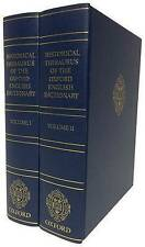 Historical Thesaurus of the Oxford English Dictionary: With Additional...