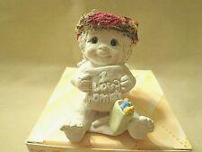 "Dreamsicles ""I Love Mommy"" Angel Figurine,Cast Art Indstrs,Ceramic,Signed,Mi ni"