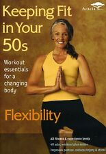 Keeping Fit in Your 50s: Flexibility (Cindy Joseph & Robyn Stuhr) New/Sealed DVD