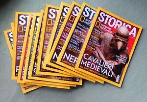 Storica National Geographic - Annata 2020 - 12 riviste