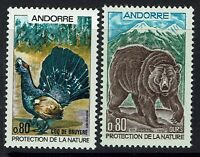 French Andorra SC# 203 and 204, Mint Never Hinged -  Lot 120716