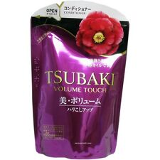 JAPAN SHISEIDO TSUBAKI-CAMELLIA VOLUME TOUCH CONDITIONER REFILL(345ml)HAIR CARE