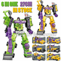 YX Transformers Devastator 6in1 G1 lot IDW 27cm Action Figure Boy Kid Gifts Toys