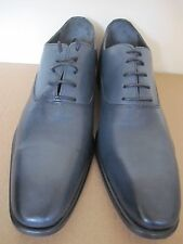 Gentleman Farmer 9008 Alfredo Marine Patine Bluish Grey Men Leather Shoes 43