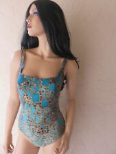 Gottex 1 Piece Swim Suit & Cover Up Sarong Beautiful Design and Colors