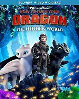 How To Train Your Dragon 3 Blu-Ray + DVD + Digital | Brand New