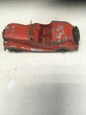 Hubley Kiddie Metal Car Red