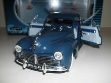 1:18 PEUGEOT 203 COUPE 1954 SOLIDO Modellauto Blau Diecast Model French Oldtimer