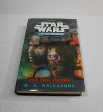 Vector Prime by R.A. Salvatore / Star Wars, SIGNED, 1st Edition, HC / DJ, 1999