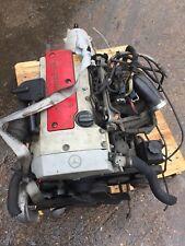 MERCEDES SLK CLK 230 COMPRESSOR ENGINE MOTOR MOTEUR M 111.973 1996-2000