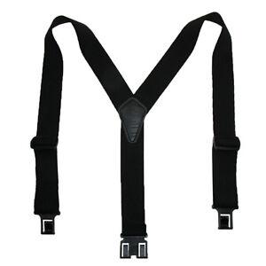 New Perry Suspenders Men's Elastic Ruf-N-Tuf Hook End Suspenders