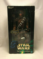 "Vintage 1999 Star Wars Power of The Force 13"" Chewbacca Action Collection Figure"